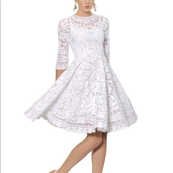 164905d219dec Dolce & Gabbana Dresses | Dolce Gabbana New Lace Dress Size 3638 ...